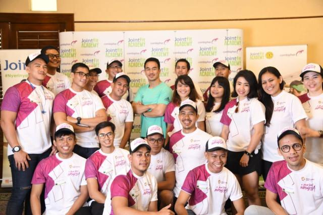 Event jointfit with joe taslim