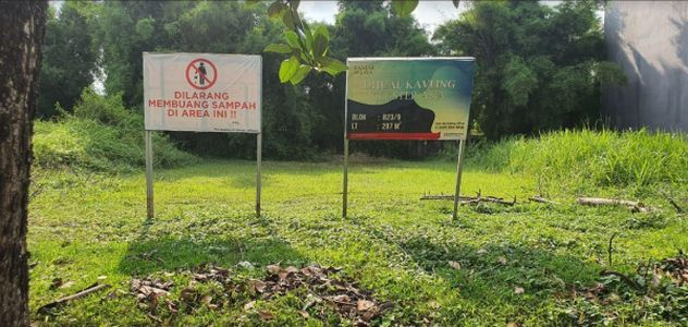 KAVLING SIAP BANGUN Banjar Wijaya Tangerang